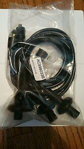 VW Bug Bus Ghia Thing Taylor 8mm Black Ignition Spark Plug Wires  AC998033B 2096