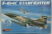 Monogram Model Kit 1:48 Scale Lockheed F-104C Starfighter Fighter Interceptor
