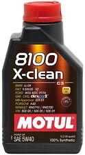 OLIO MOTUL 8100 X-CLEAN C3 5W40 3 LITRI