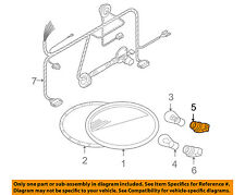 VW VOLKSWAGEN OEM 98-05 Beetle Taillight Tail Light Lamp Rear-Socket 1H0953123E