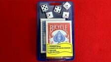 2 Sets of Bicycle Poker Decks + 5 Dice Set | Playing Cards| Texas Holdem