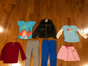 Mixed lot of girls Crewcuts Gymboree Guess Disney size 3-4