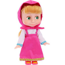 Masha Doll from Cartoon Masha and the Bear 100 Says Phrases and Songs in Russian