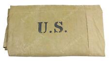 Original American Khaki Pup Tent Half - American 1/2 Shelter - Issued