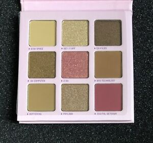 HALF CAKED Your Eyes Only 9 Pigment Eyeshadow Palette Full Size 0.48 oz/13.5 g