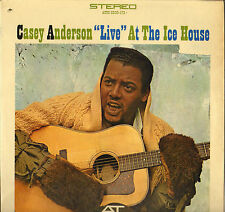 """CASEY ANDERSON """"LIVE AT THE ICE HOUSE"""" FOLK 60'S LP ATCO SD 33-172"""