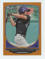 2013 Bowman Draft Orange David Dahl 116/250 #TP7 Top Prospect Rockies