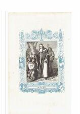 1852 Grabado, San Felix Obispo Felice