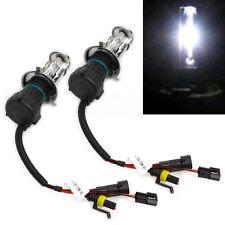 2Pcs 35W Bi-Xenon Hi/Lo Beam HID White Bulb Car Front Light Headlight H4 6000K