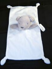 Carters Bear Security Blanket Lovey Pacifier Holder Knotted Corners