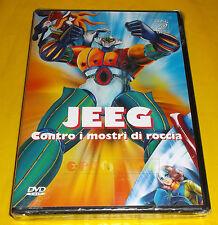 JEEG CONTRO I MOSTRI DI ROCCIA (Robot d'Acciaio) - Dvd ○○○ NUOVO SIGILLATO - B9