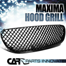 For Nissan 02-03 Maxima ABS Mesh Black Front Hood Bumper Grill Grille