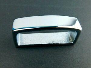 Weaver Silver Tone  Leather 410 Belt Loop  00410-CB-1 1/2