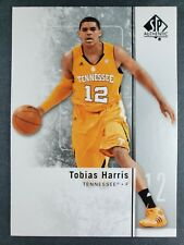 11-12 UD SP Authentic Tobias Harris Rookie NBA Basketball Trading Cards 76ers