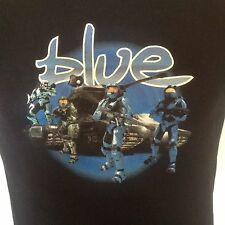 """HALO """"Blue"""" Tshirt - Mens S - Master Chief - Videogame - FPS - Shooter"""