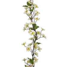 6ft artificial silk Apple Blossom Garland Pink Cream 180cm spring decoration