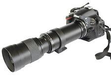 JINTU 420-800mm f/8.3-16 Telephoto Lens for Nikon D800 D700 D7200 D7000 D5200