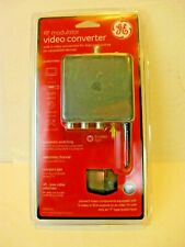 GE RF Modulator Video Audio Converter 28605 with S Video Connection New Sealed