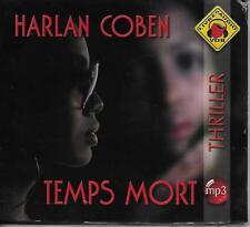 LIVRE AUDIO MP3 / HARLAN COBEN : TEMPS MORT - THRILLER - NEUF