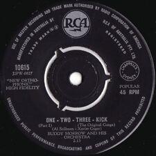 Buddy Morrow & Orchestra ORIG OZ 45 One two three kick EX '59 RCA Big band Swing