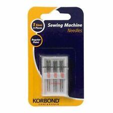 Korbond Sewing Machine Needles 6pcs Care & Repair 110262