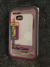 Incase Shock Slider Apple iPhone 5 Case White/Frost/Megenta - New in Box