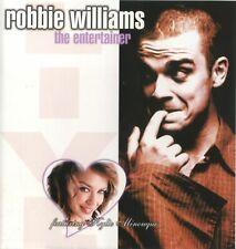 "ROBBIE WILLIAMS ""The Entertainer"" Live BBC 13 track 2001 Import CD RARE"