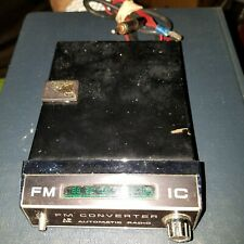 "Vintage ""Automatic Radio"" FM CONVERTER made Japan for AM Car Radios"