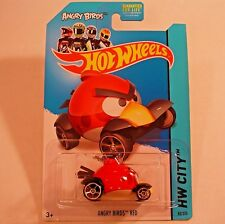 2014 Hot Wheels 82/250. Angry Birds Red. Tooned I. NEW in Package!