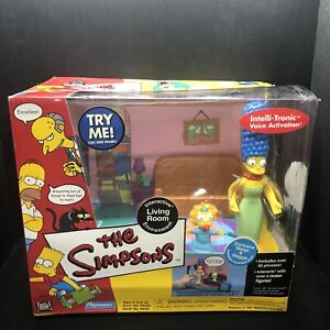 The Simpsons Playmates Living Room Marge Maggie World of Springfield Environment