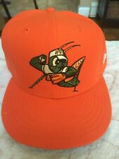 Greensboro Grasshoppers MILB New Era Firted Hat Size 8 Pittsburgh Pirates