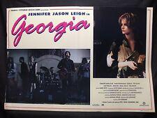FOTOBUSTA CINEMA - GEORGIA - JENNIFER JASON LEIGH - 1995 - COMMEDIA - 02