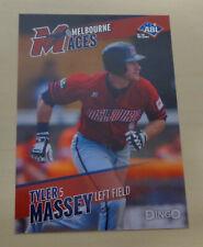 2013/14 JOSEPH TYLER MASSEY Australian Baseball League - Kansas City T-Bones
