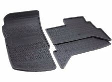 Set of 4 Genuine Range Rover Classic Rubber Floor Mats STC8053AA front middle UK