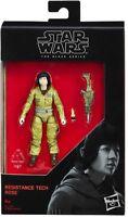 "Star Wars Black Series The Last Jedi 3.75"" Figure Rose Resistance Tech W2/17"