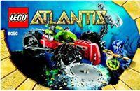 LEGO - ATLANTIS -  - 8059 - INSTRUCTIONS!