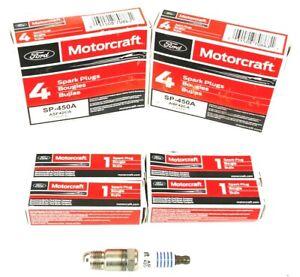 Set of 8 Genuine Motorcraft SP450A Copper Core Spark Plugs Ford ASF42CA
