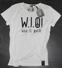 W.i.o t shirt blanco size s