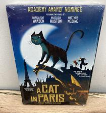 A Cat in Paris (DVD, 2012) Marcia Gay Harden, Anjelica Huston Matthew Modine NEW