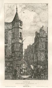 Charles Meryon original etching