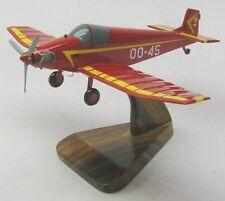 Jodel D-9 Bebe French Airplane Desktop Wood Model Large