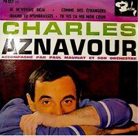 CHARLES AZNAVOUR je m'voyais deja/comme des etrangers++