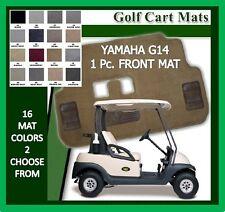Yamaha G14 G 14  Golf Cart Floor Mat One Pc. Front Carpet Mat - 16 Colors Avail.