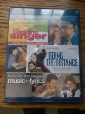 The Wedding Singer/Going the Distance/Music and Lyrics (Blu-ray Disc, 2012 New