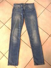 "7 FOR ALL MANKIND - JEAN ""Roxanne "" SLIM - BLEU - TAILLE 35fr"
