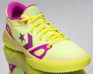 Converse G4 OX Men's Lemon Venom Hyper Magenta Volt Basketball Sneakers Shoes