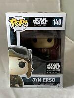 Star Wars Funko Pop! Smugglers Bounty Exclusive Jyn Erso #148 MIP
