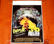 ORIGINAL MOVIE POSTER PARASITE 1982 UNFOLDED BELGIAN 1990s RERELEASE