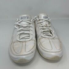 Nike Womens Musique VII Sl Cheerleading Shoes White 407874-106 Low Top Lace Up 9