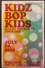 Hatch Show Print Poster Kidz Bop Kids July 24, 2016 Life of Party (16 of 100)